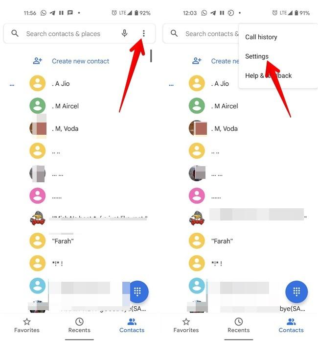 Nummer blockieren Alle Android anzeigen