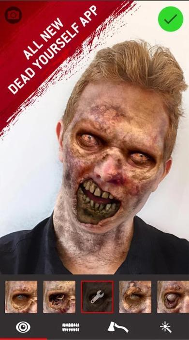 Gruselige Apps Halloween Walking Dead Tot dich selbst