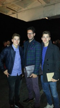 Callum Watt and the Harries twins from Jacks Gap