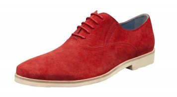 CARLO PAZOLINI shoe red suide