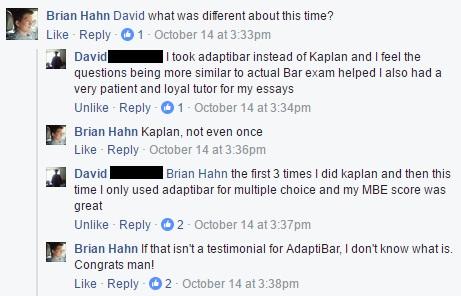 Testimonial as to why AdaptiBar
