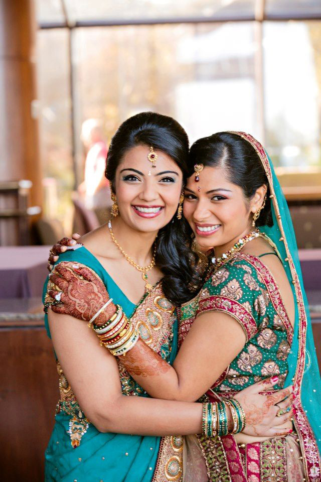 Siddhi and Prachi – Indian Bridal Makeup - Makeup Artistry After Photo