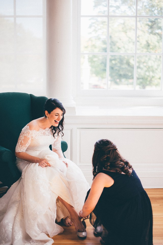Bridal hair and makeup for Bald Hill Mansion CT wedding