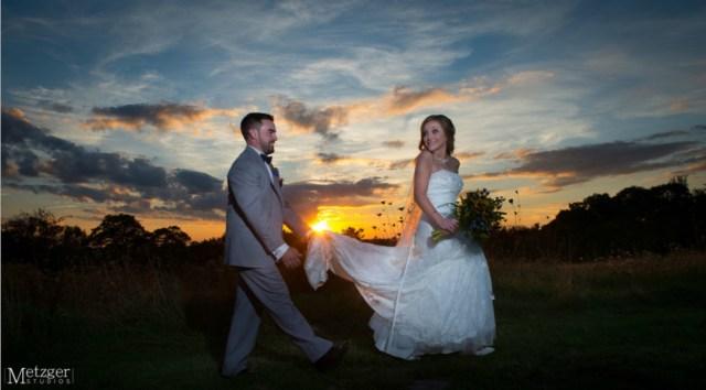 Bridal hair and makeup for Harrington Farm wedding