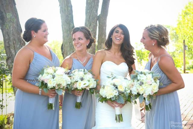 Bridal makeup and hair for Jamie's Sturbridge wedding at The Barn at Wight Farm