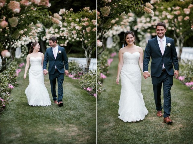 Natural bridal makeup and hair for Erica's wedding at Chesterwood in the Berkshires