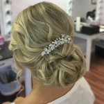 Bridal Hair Design Wedding Updo by Christy & Co.