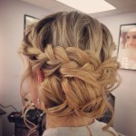 Braided Updo by Renee for Christy & Co.