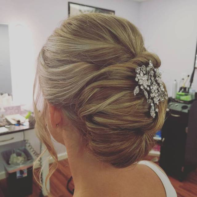 Sculpted Updo by Renee for Christy & Co.
