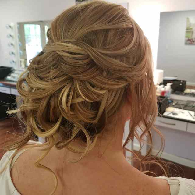 Tousled Updo by Renee for Christy & Co.