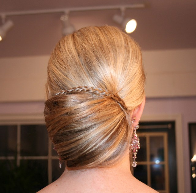 Sleek Bun Updo by Renee for Christy & Co.