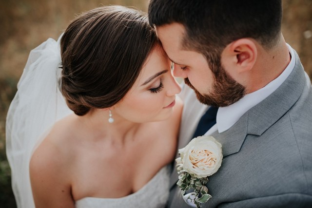 Natural bridal makeup by Christy Lavallee