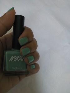 Nykaa Pastel Nail Polish in shade 65 Mint Meringue