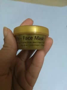 SaND Deadly Face Mask in Fab Bag September 2016