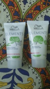 Wella Professional Elements Shampoo and Wella Professional Elements Mask in Nykaa Beauty Lab