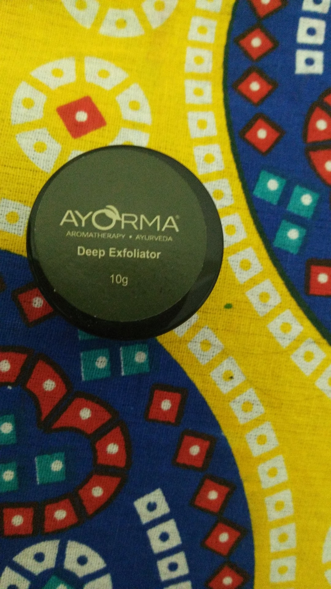 Ayorma Radiance Glow Deep Exfoliator in Fab Bag April 2017
