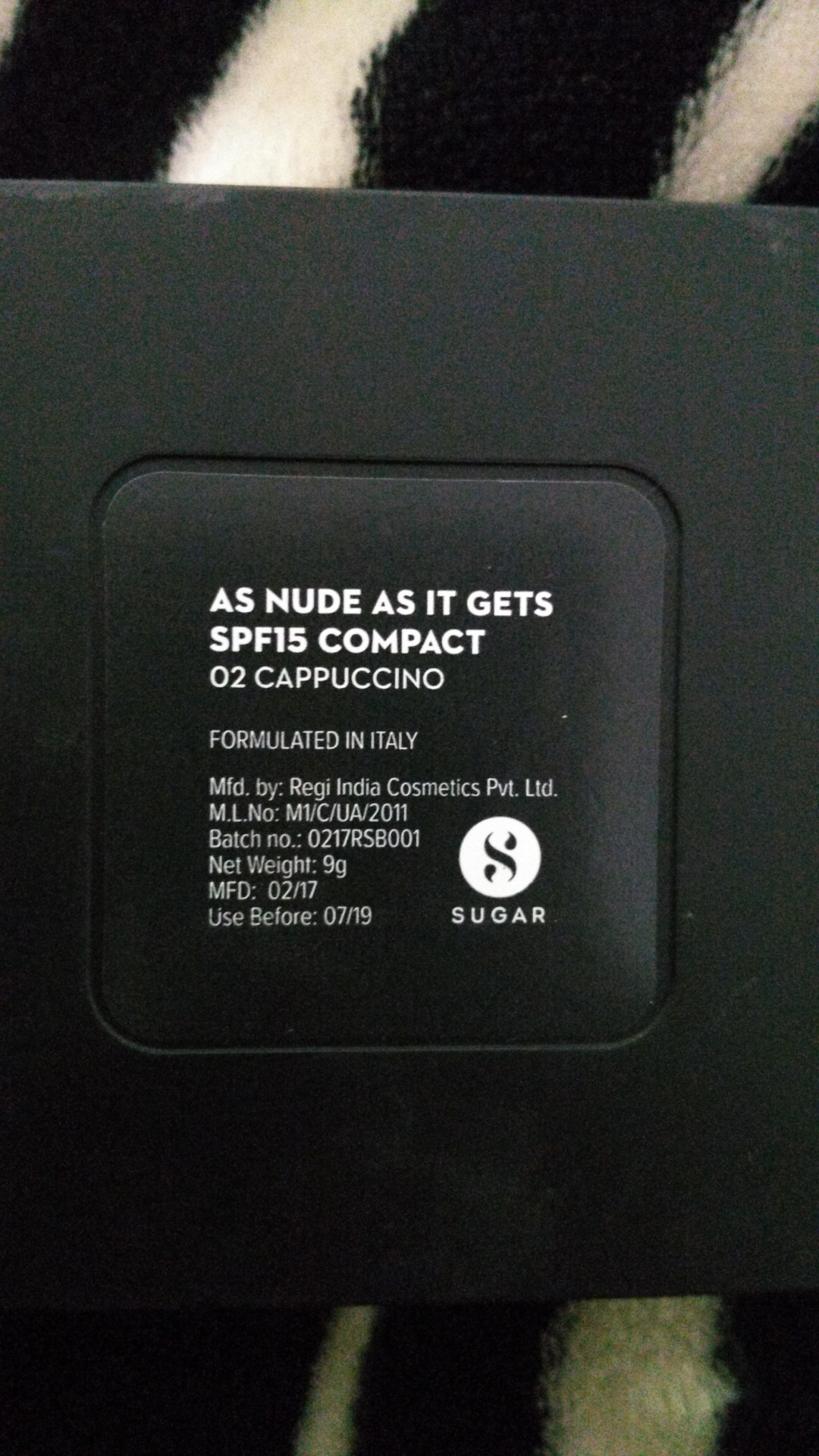 Sugar Cosmetics As Nude As It Gets Compact 02 Cappuccino