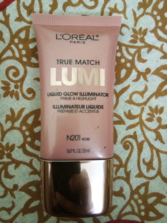 L'Oreal True Match Lumi Liquid Glow Illuminator in Shade N201 Rose