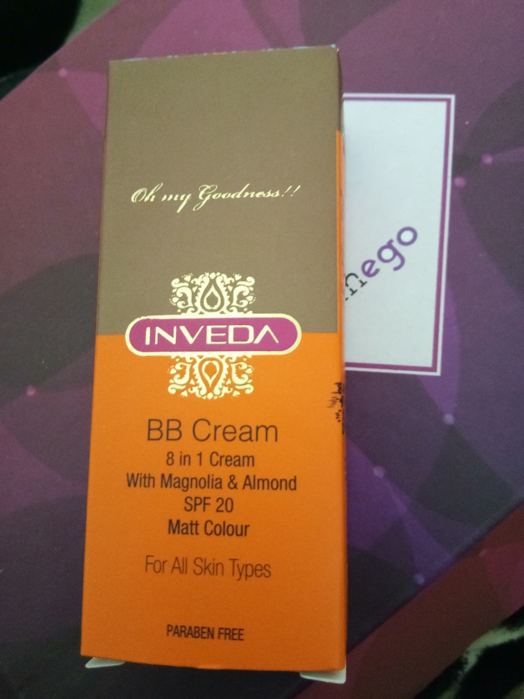 Inveda - Magnolia BB Cream in GlamEgo August 2017 Box