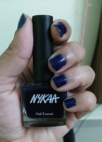 Nykaa Nail Enamel Shade 67 Midnight Craving
