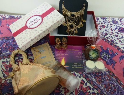 Happy Hamper Subscription Box October (DiwaliDiva Edition)