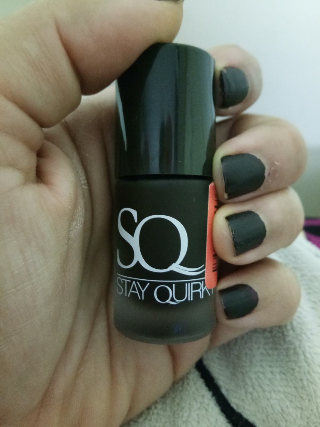 Stay Quirky Nail Polish Matte Finish Maroon Matte-beth 1046: Review ...
