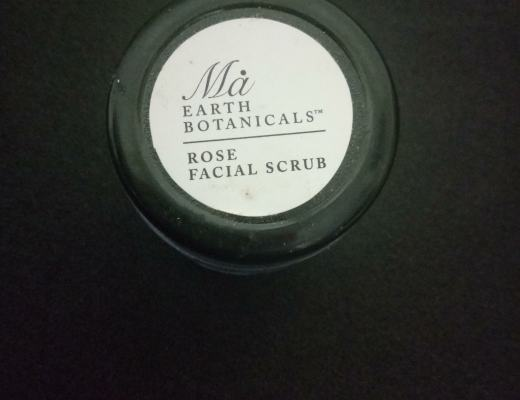 Ma Earth Botanicals Rose Facial Scrub