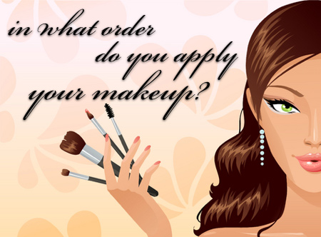 Image result for the order of makeup application