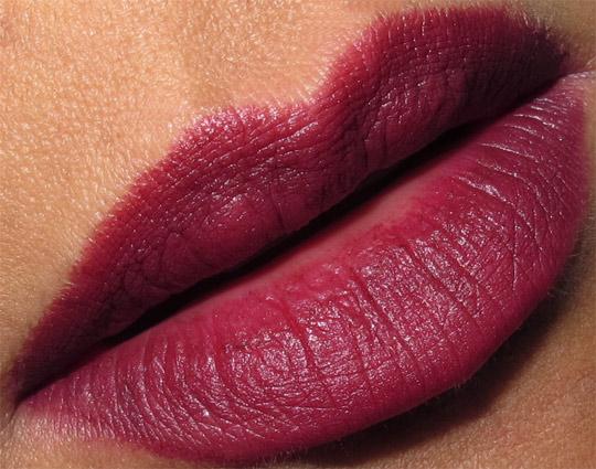 nars pure matte lipstick swatches review volga