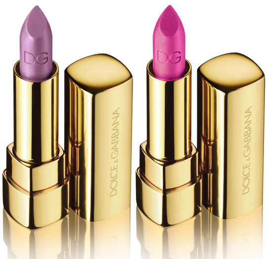 Dolce Gabbana Secret Garden Shine Lipsticks Romance Love