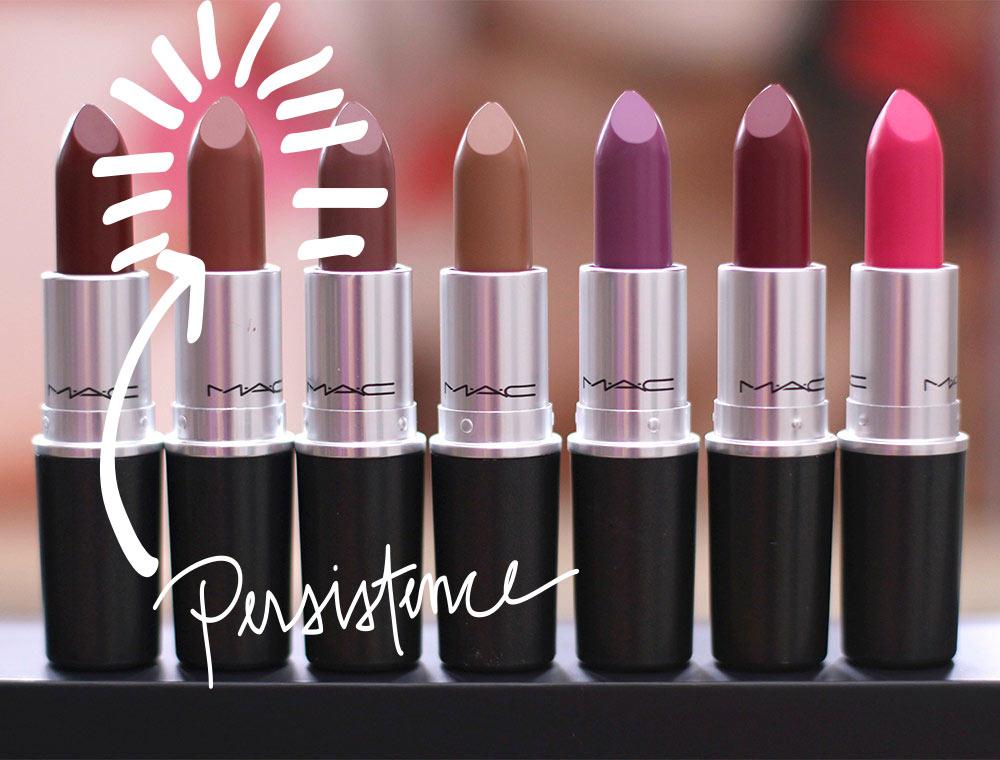 mac persistence lipstick