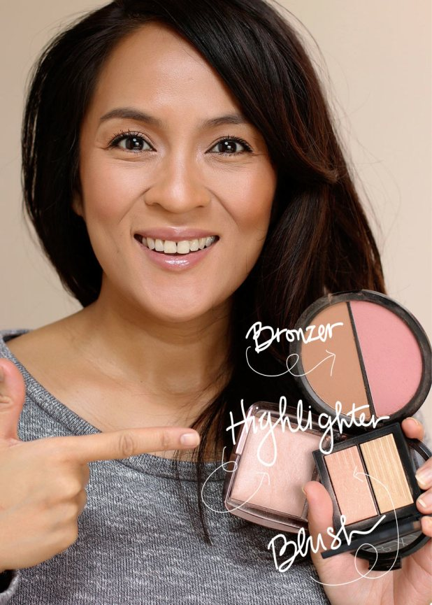 How to apply bronzer highlighter how to travel tip time you can use your bronzer blush and highlighter ccuart Choice Image