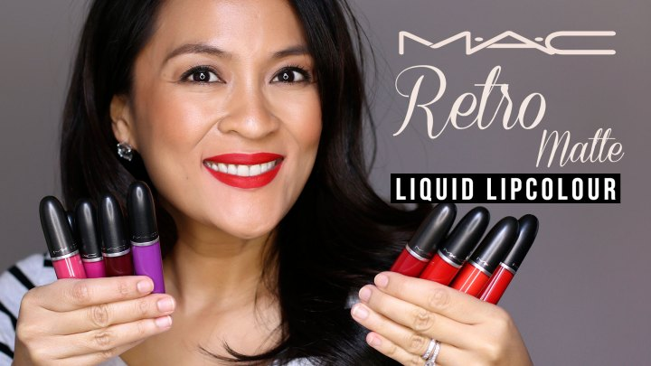 Mac Retro Matte Liquid Lipcolour Review Swatches Makeup And Beauty Blog