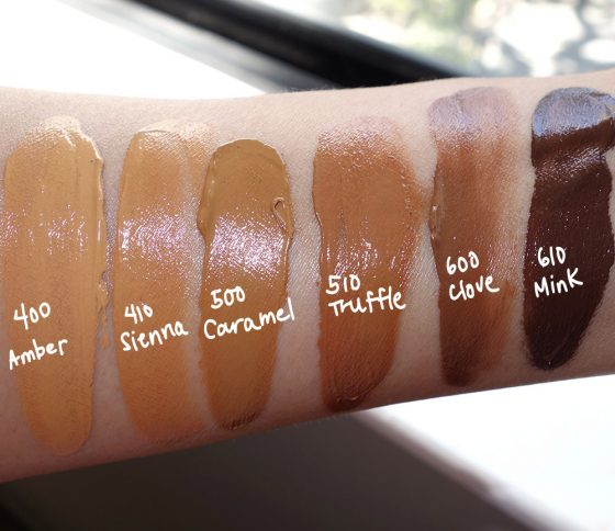estee edit skin glowing balm swatches 2