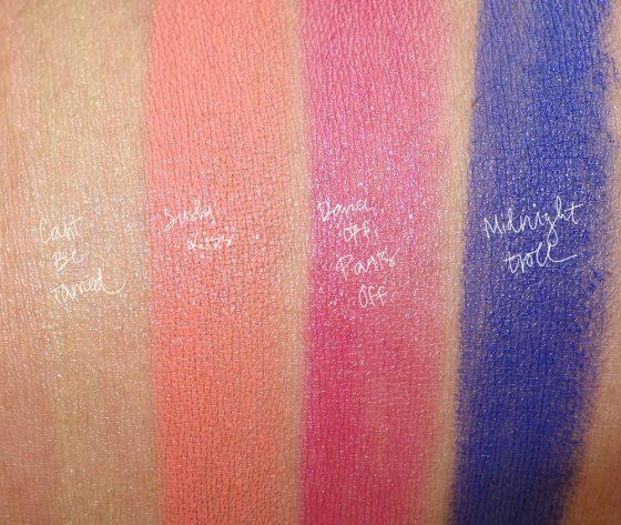 mac good luck trolls lipstick-swatches