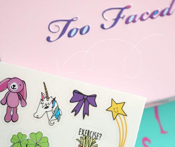 too faced totally cute unicorn