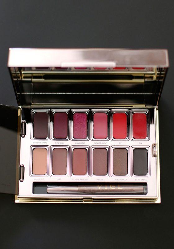 urban decay vice lipstick palette blackmail