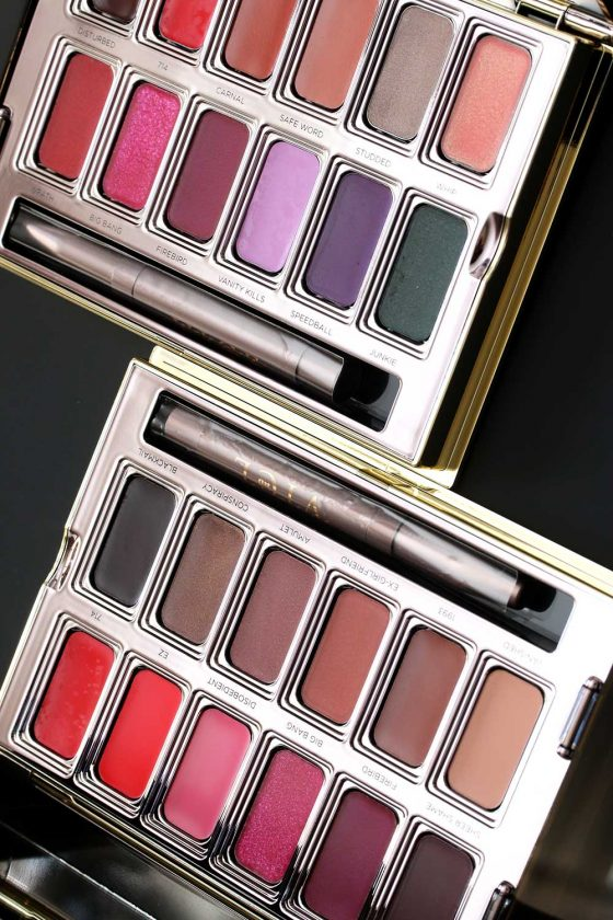 urban decay vice lipstick palettes both