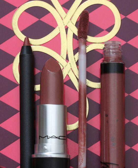 mac nutcracker sweet nude lip bag