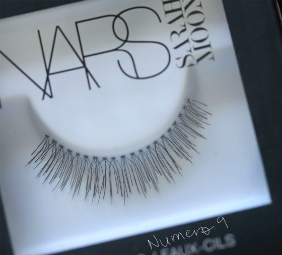 nars sarah moon numero 9 eyelashes