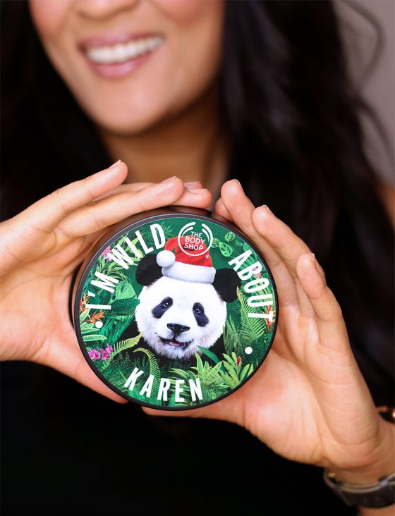 body shop personalized body butter vanilla chai