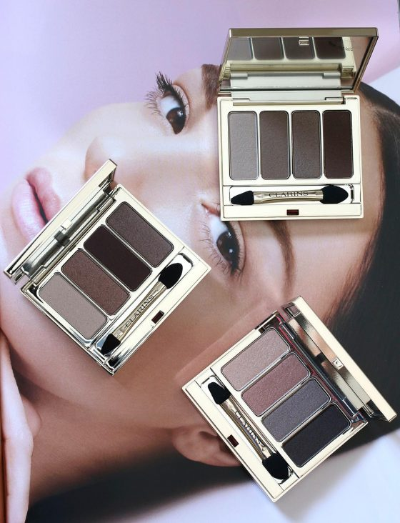 clarins palette 4 colors fall 2016