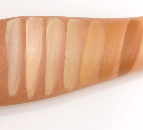 maybelline dream cushion swatches
