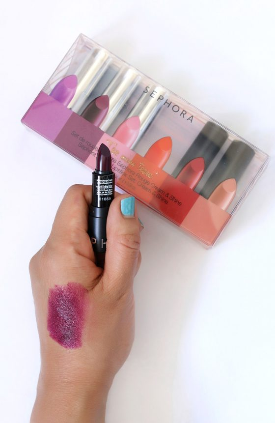 sephora the mini team swatch