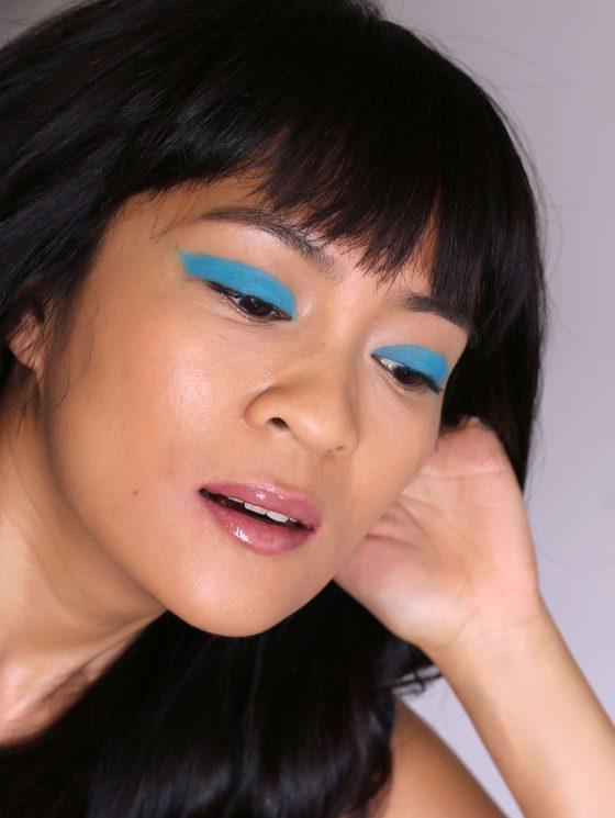 mac blue peep fluidline