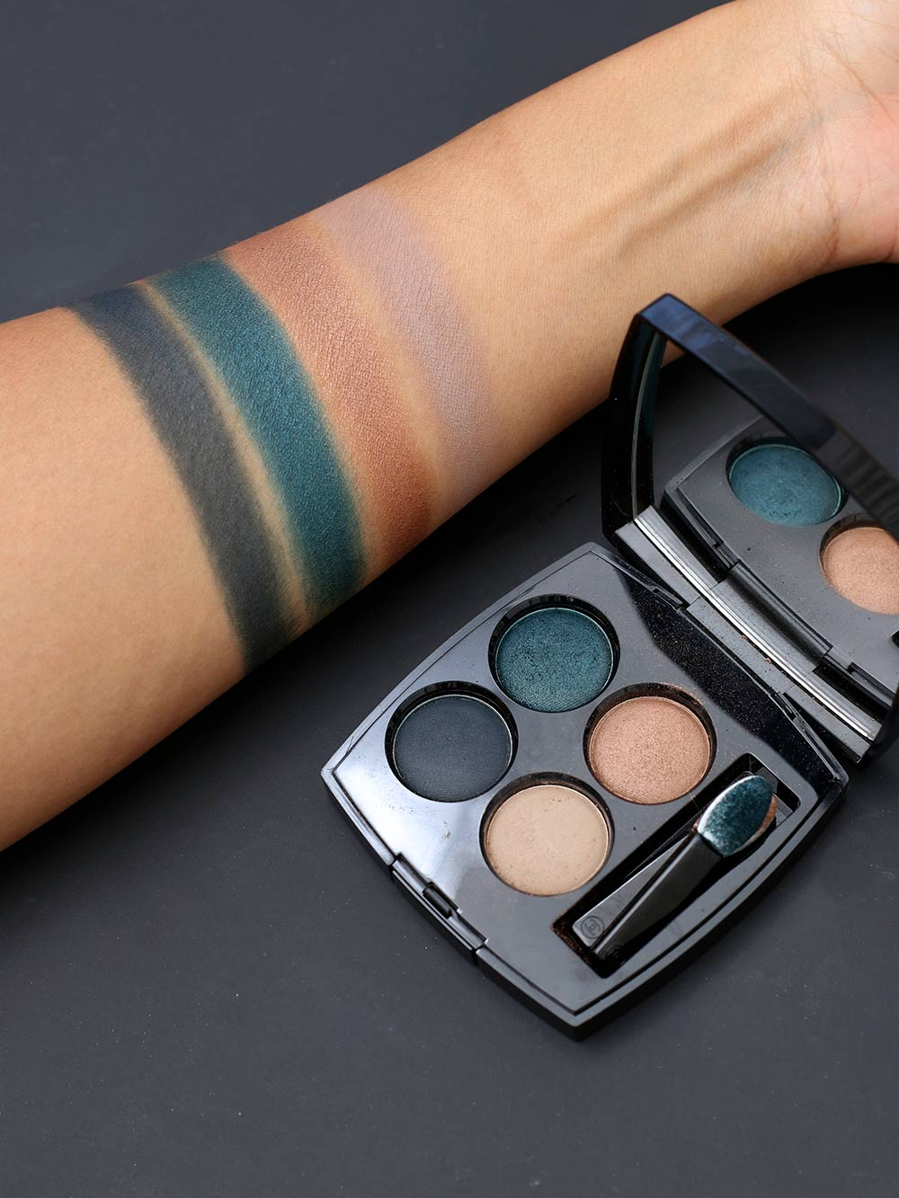 Chanel Road Movie Les 4 Ombres Eyeshadow Palette Review