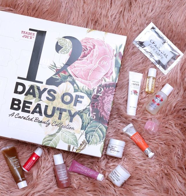 trader joes 12 days of beauty