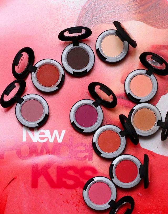 mac powder kiss eye shadow swatches
