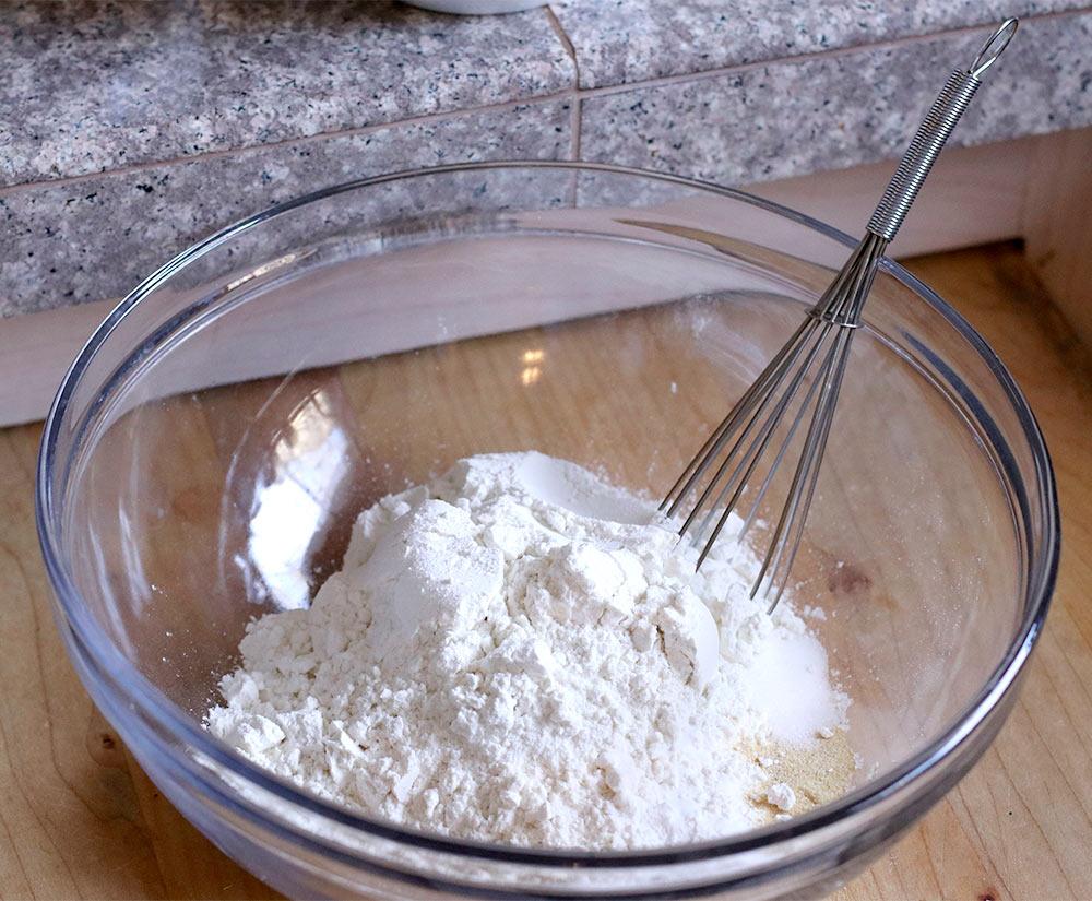 gluten free cheddar garlic biscuit recipe dry ingredients