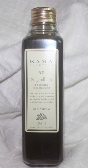 Kama Ayurveda's Sugandhadi Rejuvenating Body Treatment Ayurvedic Oil Review